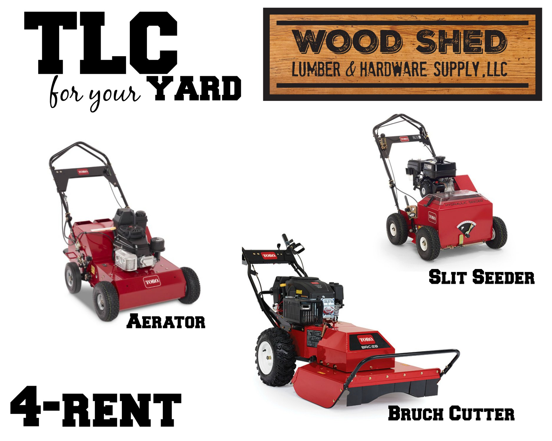 tlc yard rental