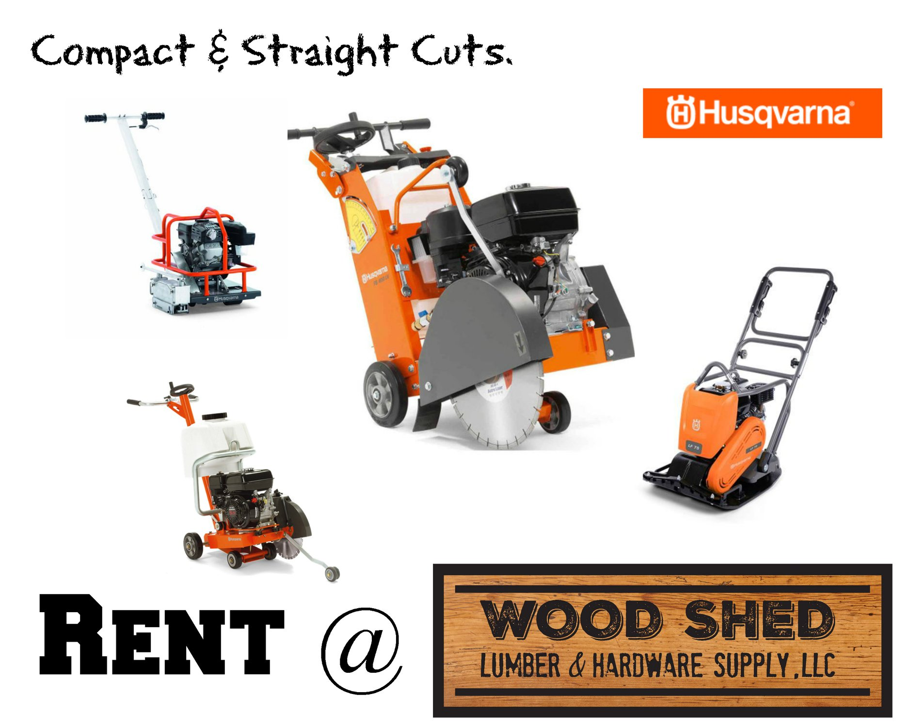 husqvarna rental equipment